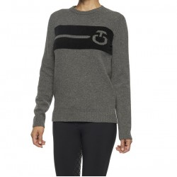 CT Pull Col Rond Femme